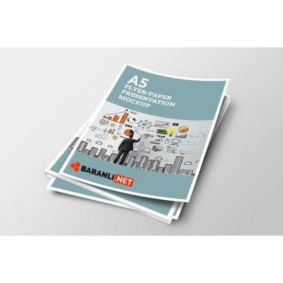 A5 El ilanı - Ekonomik Broşür 2000 adet